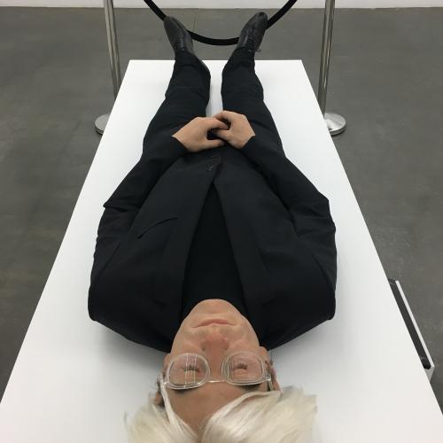Artist Eugenio Merino Creates Life-Sized Sculpture of Andy Warhol's Corpse