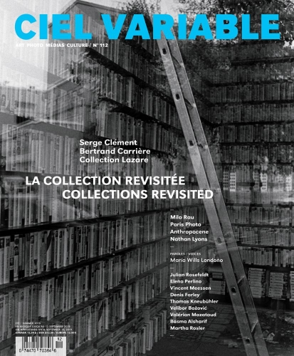 """VELIBOR BOŽOVIĆ EXHIBITION """"IN SEEING, THERE IS NO RIGHT NO WRONG"""" REVIEWED IN THE CURRENT ISSUE OF CIEL VARIABLE MAGAZINE"""