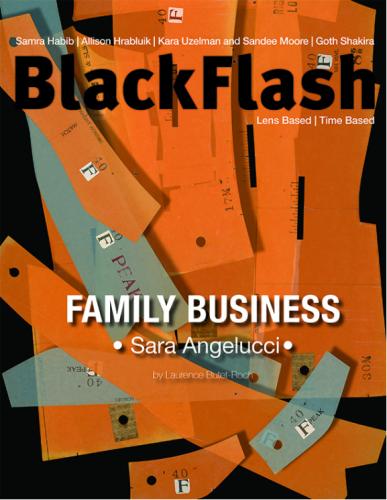 SARA ANGELUCCI IN BLACKFLASH MAGAZINE