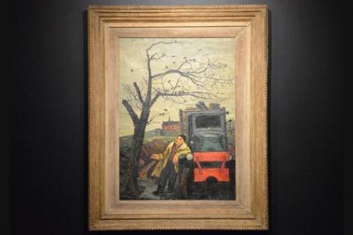 Gregorio Prestopino at Caldwell Gallery Hudson