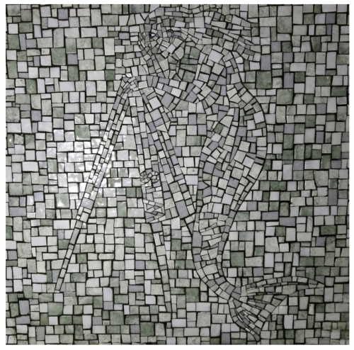 Ellen Harvey's mosaic NETWORK opens at Boston's South Station