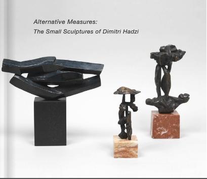 Dimitri Hadzi - Danese/Corey exhibition catalogue