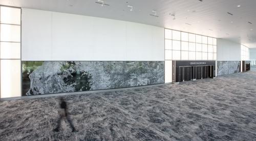 "Ellen Harvey's ""Atlantis"" unveiled at Miami Beach Convention Center"