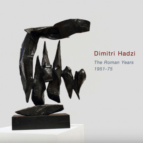 Dimitri Hadzi: The Roman Years 1951-75