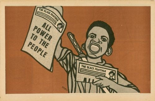"""Mark Thomas Gibson's curated show, """"Black Pulp!"""" reviewed in the New York Times"""