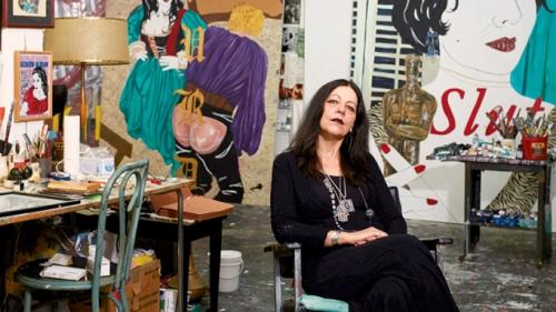 Kathe Burkhart in Art in America