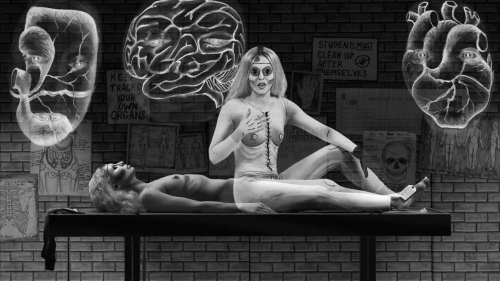 Mary Reid Kelley and Patrick Kelley at Tate Liverpool in Artforum