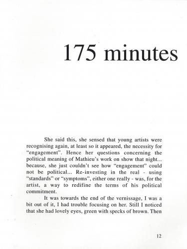 175 minutes, 2000