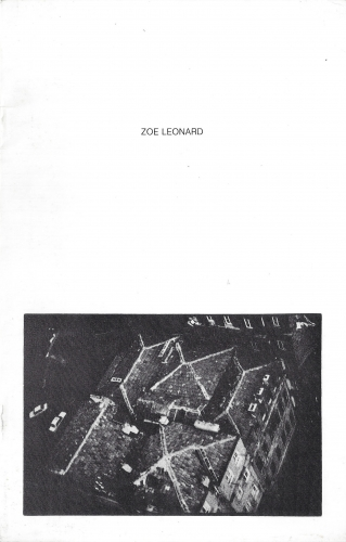 Zoe Leonard, 1991