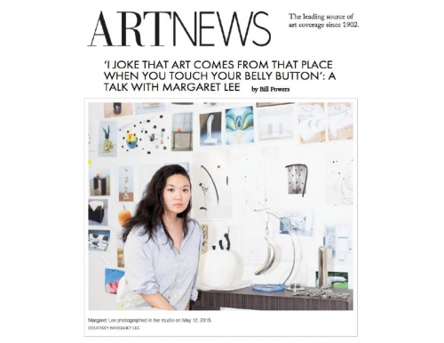 Margaret Lee in Art News