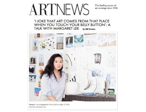 Margaret Lee in Art News