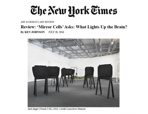 Elizabeth Jaeger in New York Times