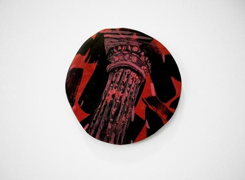 Gorchov Untitled Tondo ceramic