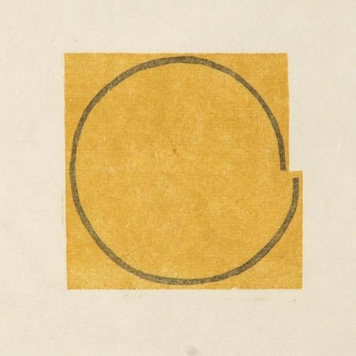 mangold untitled woodcut B