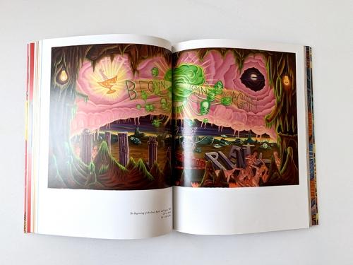 david sandlin artist monograph inside view