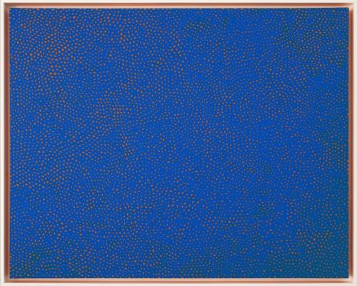 "Yayoi Kusama_Infinity-Nets RBKT, 2014 (51 1:8"" x 63 3:4"")-Casterline Goodman Gallery.jpg"