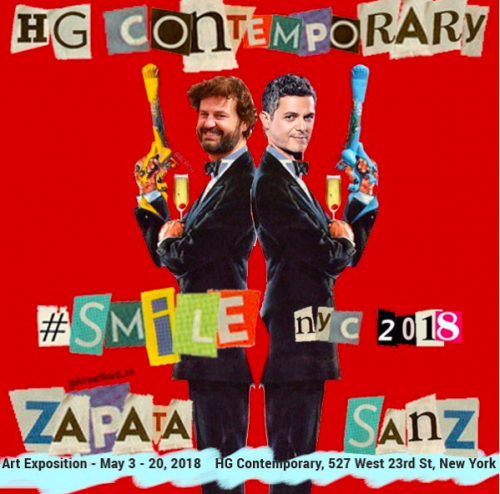 Smile by Domingo Zapata and Alejandro Sanz at Hg Contemporary