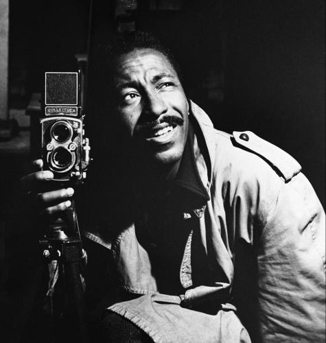 Gordon Parks Self Portrait, ca.1948 | BL | Black Lion Journal | Black Lion