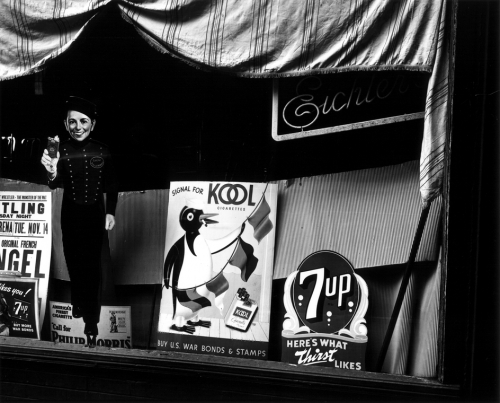 Brett Weston, Storefront Window