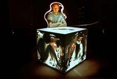 Sarkisian's cube: Santa Fe artist creates a box of mystery and illusion