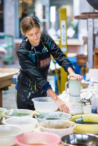 For Richelle Gribble, an Artist-in-Residence Creates a Sense of Place
