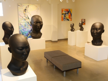 Scarlett Kanistanaux at White Cube Gallery, Colorado with Guest Artist Ella Buchholz