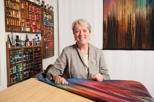 Judith Content's work featured in Why Quilts Matter