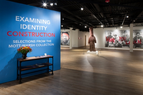 Installation view of 'Examining Identity Constructions,' courtesy the MW Gallery, Flint, MI. Photo by Tim Thayer.