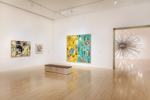 Installation view, One Day at a Time: Manny Farber and Termite Art, MOCA Grand Avenue, courtesy of The Museum of Contemporary Art, Los Angeles, photo by Zak Kelley.