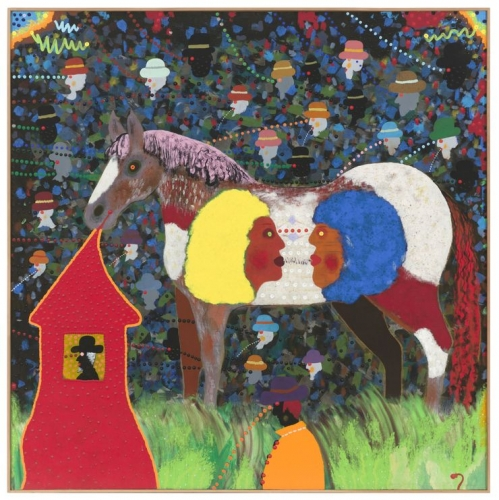 Roy de Forest, The Dual Life of a Horse Girl, 1971