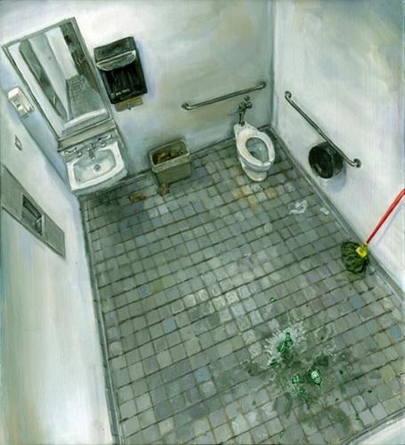 Amer Kobaslija 'Vacant Bathroom' 2007