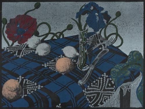 Jack Beal, 'Still Life,' 1978 lithograph.
