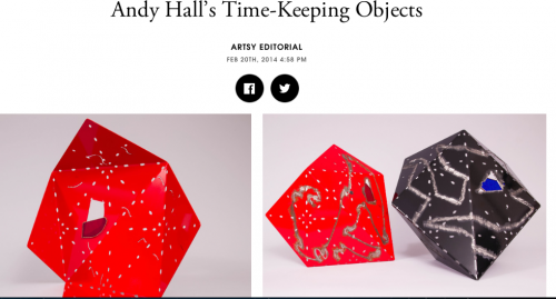 Artsy: Andy Hall's Time Keeping Object