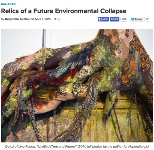 Hyperallergic: Relics of a Future Environmental Collapse
