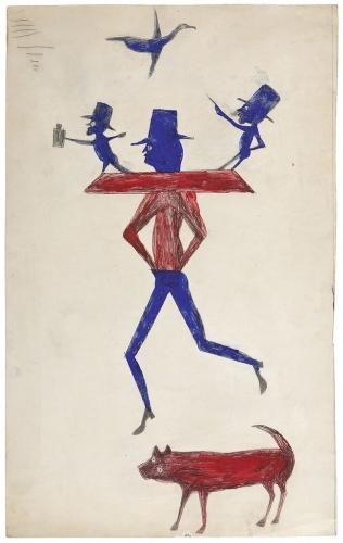 Bill Traylor New Yorker