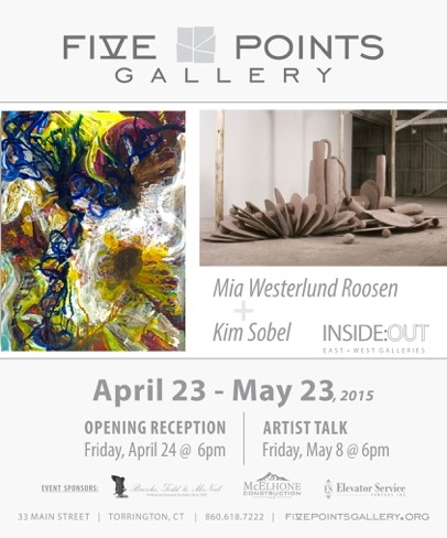 Mia Westerlund Roosen upcoming show in Torrington Connecticut