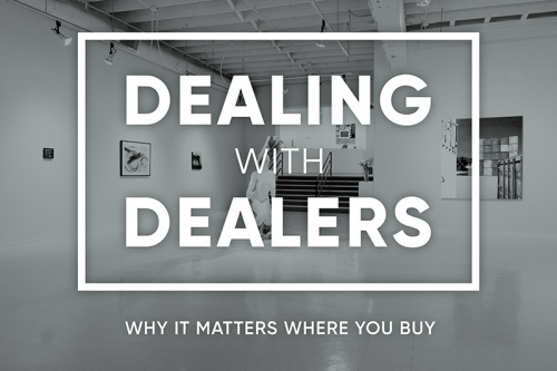 Russo Lee Gallery PADA Talk | Dealing With Dealers