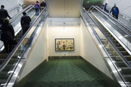 Artist Kim Osgood Brings Harmony, Abundance, and Joy to North Baggage Claim
