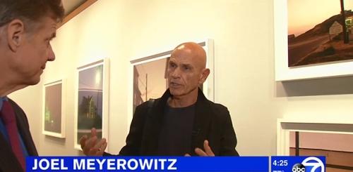 WATCH: Joel Meyerowitz Interviewed by WABC-TV