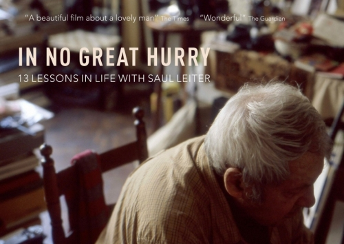Now Available on DVD In No Great Hurry - 13 Life Lessons With Saul Leiter