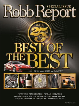 Howard Greenberg Gallery featured in 2013 Robb Report: 'Best of the Best'