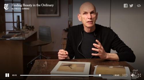 Interview with Joel Meyerowitz in the NYT Lensblog