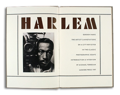 Gordon Parks - Harlem - Lumiere Press