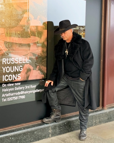 Russell Young Takes Over London