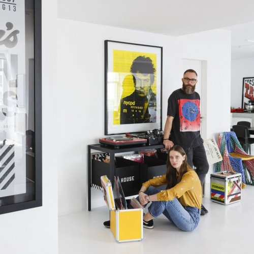 ELLE DECORATION | HOUSSEIN JAROUCHE HOUSE IN SÃO PAULO INSPIRED BY POP ART