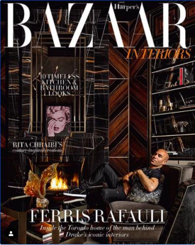 Harper's Bazaar Interiors | Russell Young