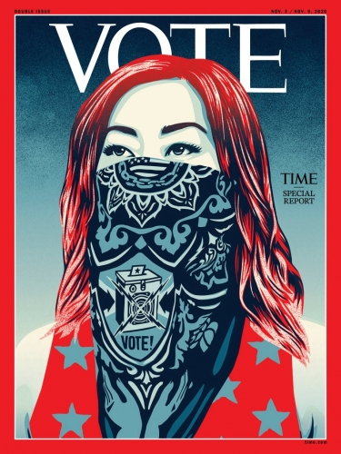 TIME | Shepard Fairey VOTE