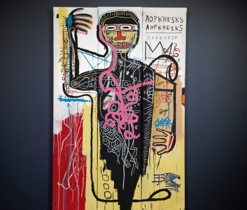 ARTNET    Basquiat Painting Could Become One of the Priciest Works by artist Ever at Sotheby's Auction