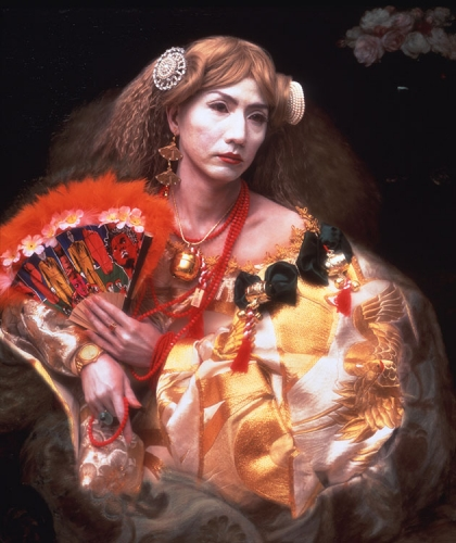 Yasumasa Morimura in Be Seen: Portrait Photography Since Stonewall