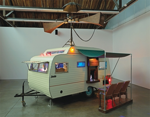 Cardiff and Miller camper installation